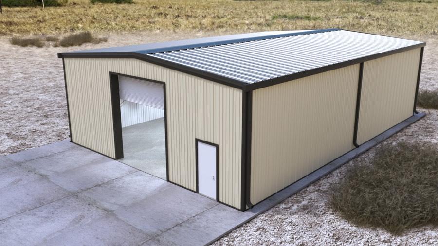 40x60x16 New Metal Building