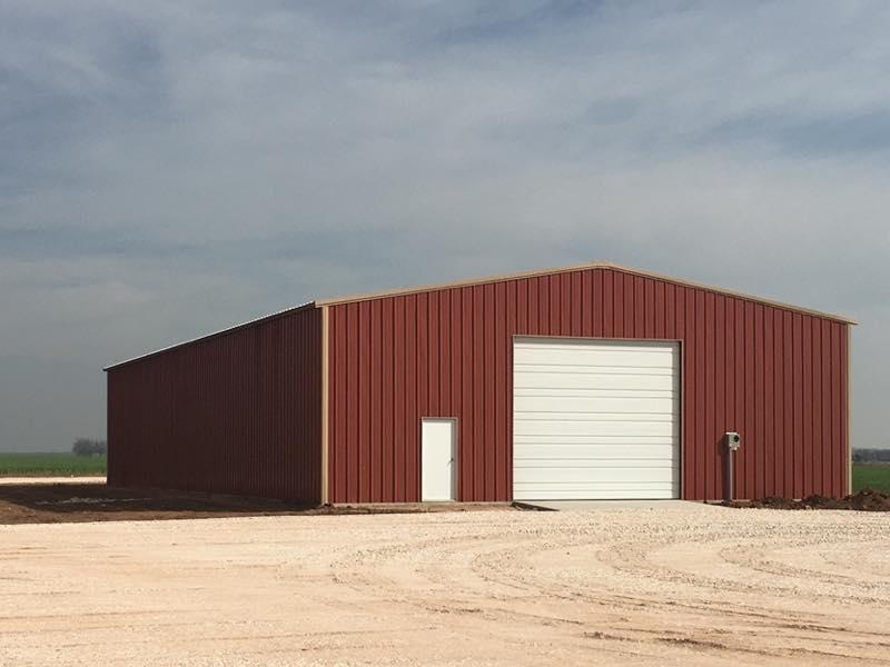 40x80x18 New Metal Building Qe Building Co