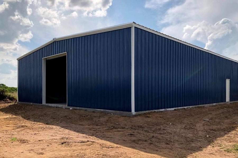 60x80x20 New Metal Building Qe Building Co